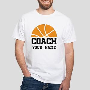 Personalized Basketball Coach T-Shirt