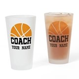 Basketball coach Drinking Glass