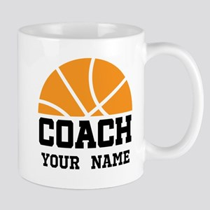 Personalized Basketball Coach Mugs