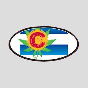 Colorado Marijuana Flag Patch