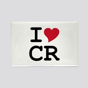 Costa Rica Heart Rectangle Magnet