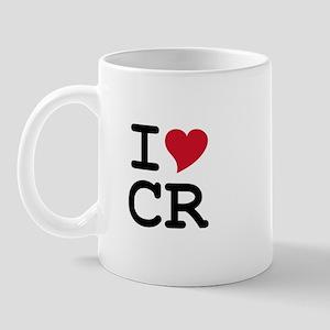 Costa Rica Heart Mug