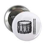 Woodcut Snare Drum Button