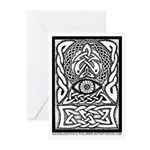 Celtic All Seeing Eye Greeting Cards (Pk of 10)