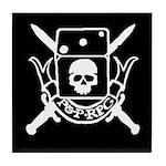 P&P RPG Crest! Tile Coaster
