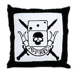 P&P RPG Crest! Throw Pillow