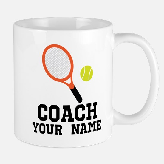 Tennis Coach Personalized Mugs