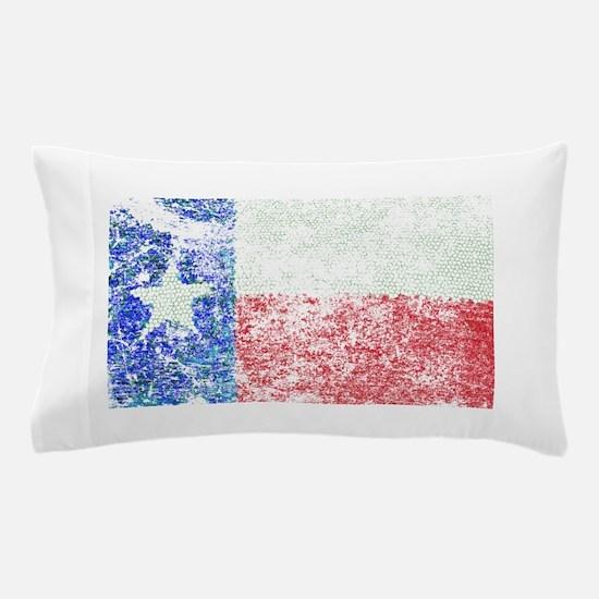 Vintage Texas Flag Pillow Case