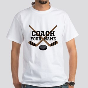 Hockey Coach Personalized T-Shirt