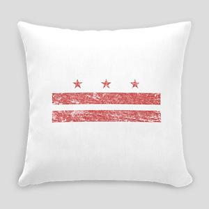 Vintage Washington DC Everyday Pillow