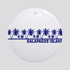 Galapagos Islands Ornament (Round)
