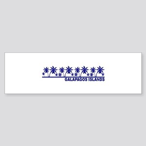 Galapagos Islands Bumper Sticker