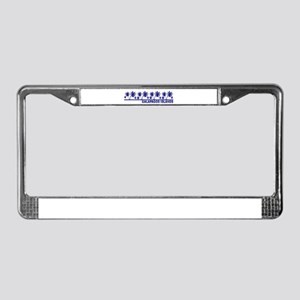 Galapagos Islands License Plate Frame