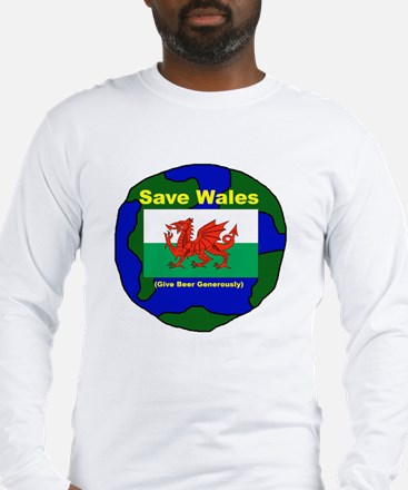 Save Wales Long Sleeve T-Shirt