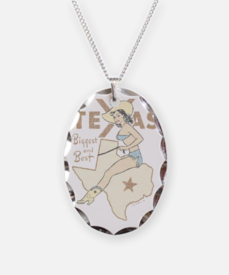 Faded Texas Pinup Necklace