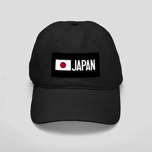Japan: Japanese Flag & Japan Black Cap