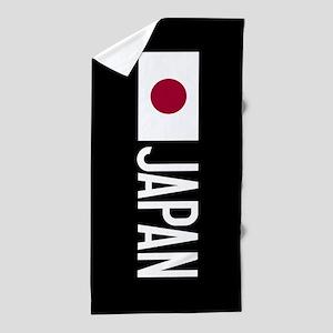 Japan: Japanese Flag & Japan Beach Towel