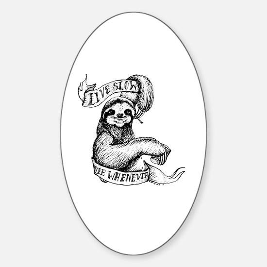 Unique Live Sticker (Oval)