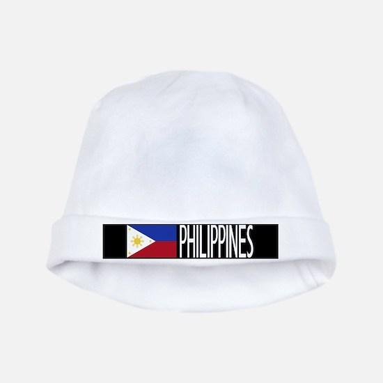 Philippines: Filipino Flag & Philipinnes baby hat