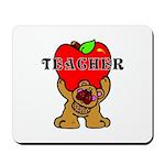 Teachers Apple Bear Mousepad