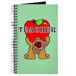 Teachers Apple Bear Journal