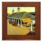 New Orleans Themed Framed Tile