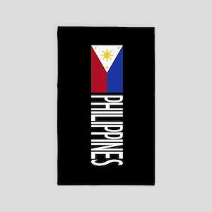 Philippines: Filipino Flag & Philipinnes Area Rug