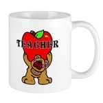 Teachers Apple Bear Mug
