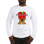 Teachers Apple Bear Long Sleeve T-Shirt