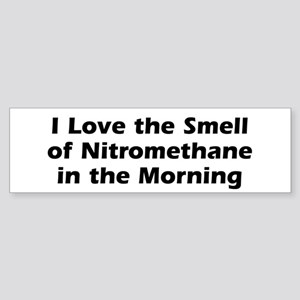 Nitro Morning Bumper Sticker