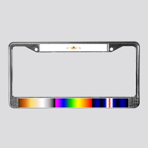 Tribal Bear Paw License Plate Frame