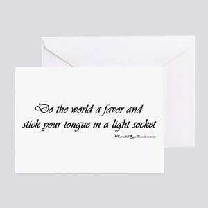 "Bright Idea ""Greeting"" Card"