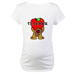 Teachers Apple Bear Shirt