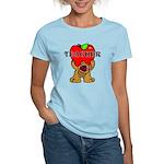 Teachers Apple Bear Women's Light T-Shirt