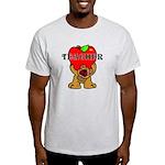 Teachers Apple Bear Light T-Shirt