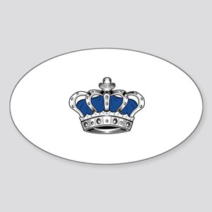 Crown - Blue Sticker