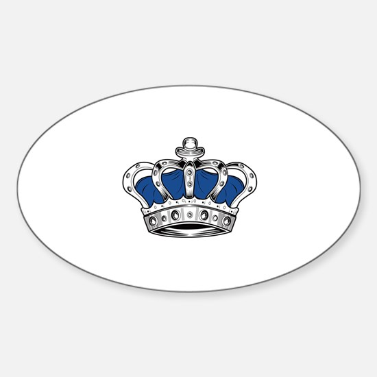 Crown - Blue Decal
