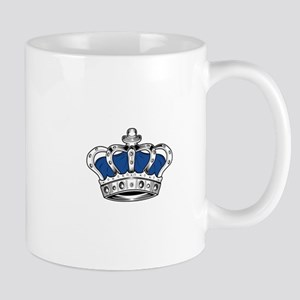 Crown - Blue Mugs