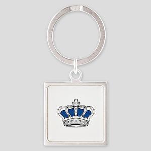 Crown - Blue Keychains