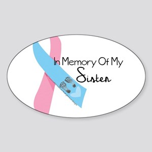 In Memory - Sister Sticker