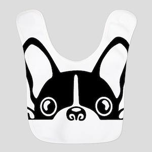 French Bulldog Polyester Baby Bib
