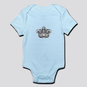 Crown - Grey Body Suit