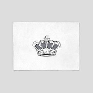 Crown - Grey 5'x7'Area Rug