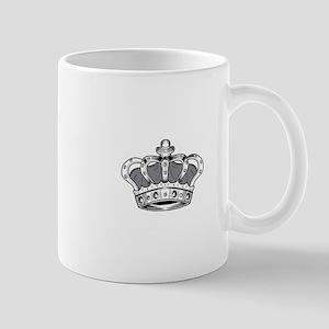 Crown - Grey Mugs