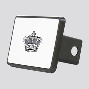 Crown - Grey Rectangular Hitch Cover