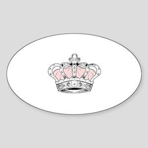 Crown - Pink Sticker