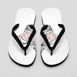 Crown - Pink Flip Flops