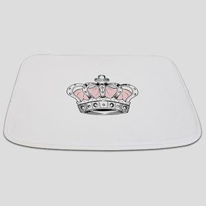 Crown - Pink Bathmat
