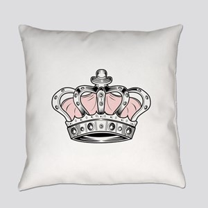 Crown - Pink Everyday Pillow