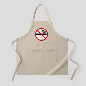 No Smoking BBQ Apron